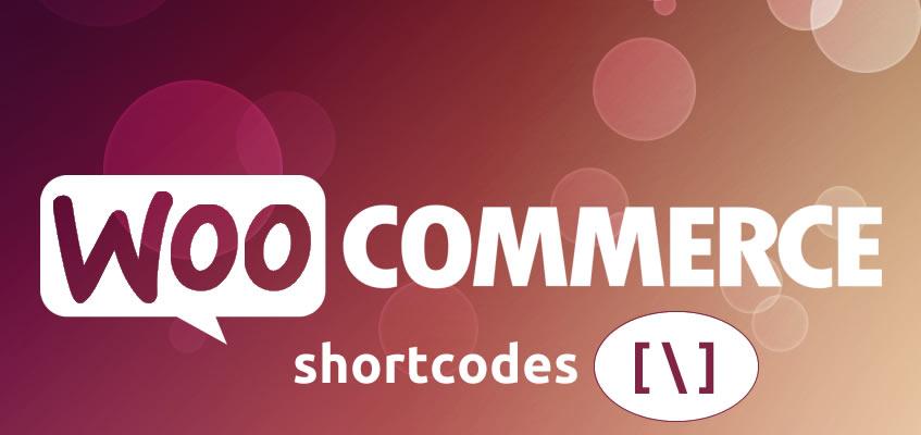 Woocommerce Shortcodes